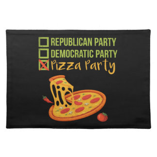 Pizza Party - Funny Novelty Voting Political Placemat