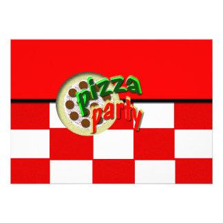 Pizza Party Announcement