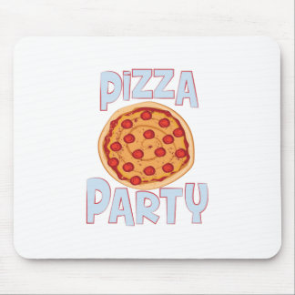 Pizza Party Mouse Pad