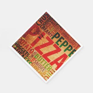 Pizza Party Paper Napkins Party Goods