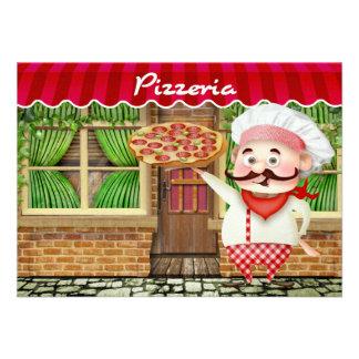 Pizza Party - SRF Invitations