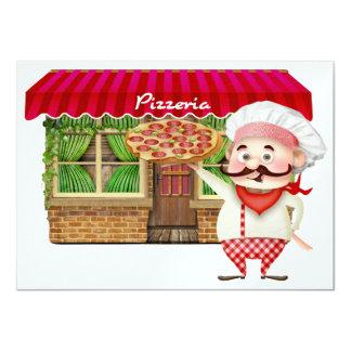 Pizza Party - SRF Personalized Invite