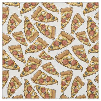Pizza Pattern fabric