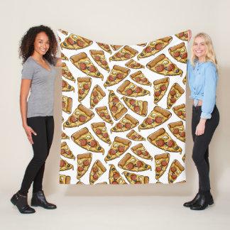 Pizza Pattern fleece blankets