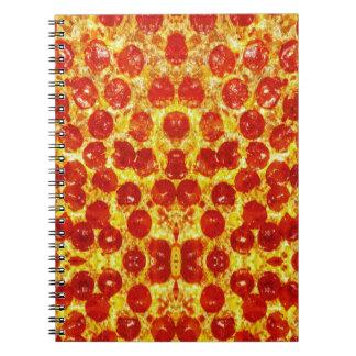 Pizza Pattern Notebooks