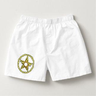 Pizza Pentacle Men's Boxer Shorts Boxers