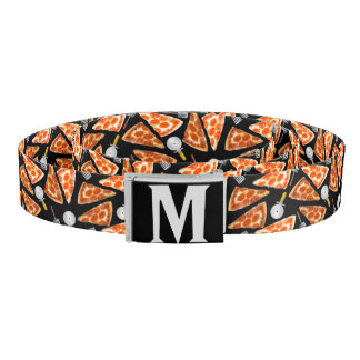 Pizza Pizza Monogram Belt