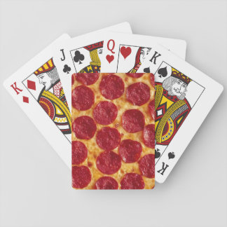 Pizza Playing Cards