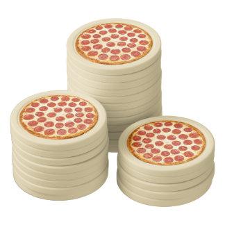 Pizza Poker Chips