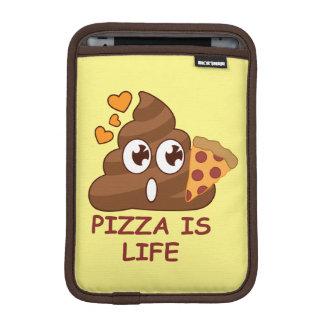 Pizza Poop Life iPad Mini Sleeve
