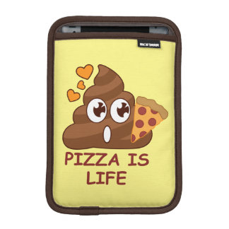 Pizza Poop Life Sleeve For iPad Mini