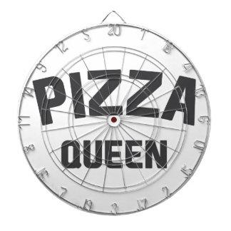 Pizza Queen Dartboard