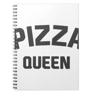 Pizza Queen Notebooks