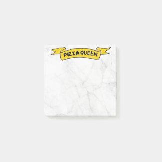 'Pizza Queen' Post-it® Notes