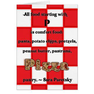 Pizza Recipe Card