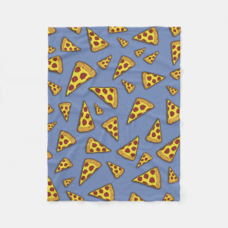Pizza Rules! Fleece Blanket