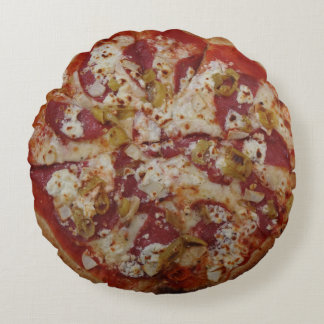 Pizza Rustica throw pillow