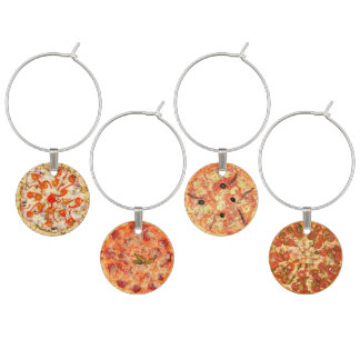 Pizza Selection Wine Charm
