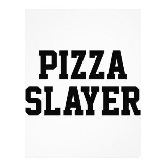 Pizza Slayer Letterhead