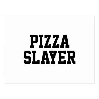 Pizza Slayer Postcard