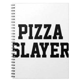 Pizza Slayer Spiral Notebook