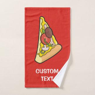 Pizza Slice Bath Towel Set