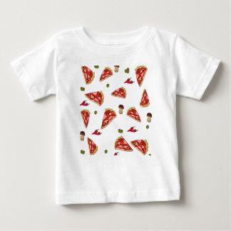 Pizza slice pattern baby T-Shirt