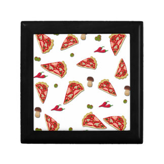 Pizza slice pattern gift boxes