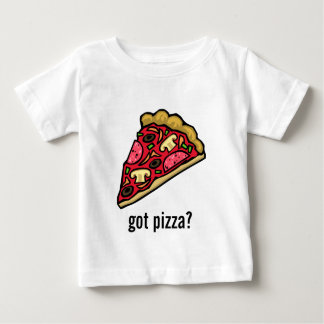 Pizza Slice with Various Toppings Baby T-Shirt