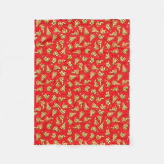 Pizza Slices Fleece Blanket