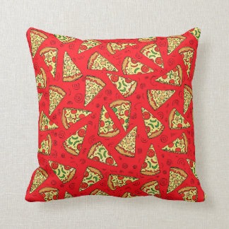 Pizza Slices Throw Pillow