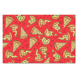 Pizza Slices Tissue Paper