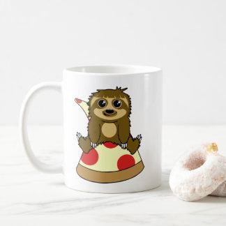 Pizza Sloth Coffee Mug