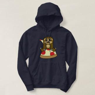 Pizza Sloth Hoodie