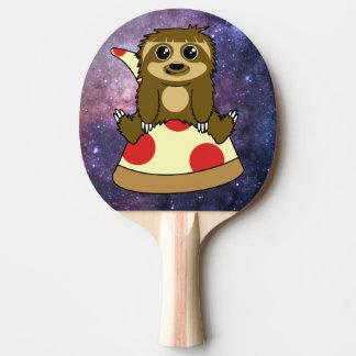 Pizza Sloth Ping Pong Paddle