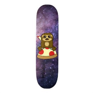 Pizza Sloth Skateboard Deck