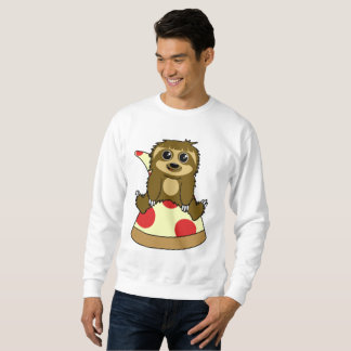 Pizza Sloth Sweatshirt