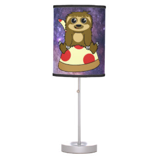 Pizza Sloth Table Lamp