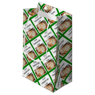 pizza small gift bag