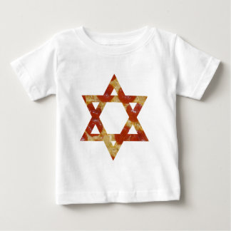 pizza star of david baby T-Shirt