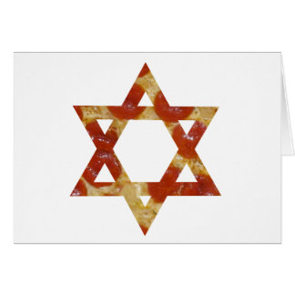 pizza star of david card