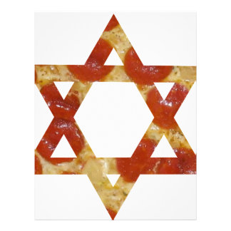 pizza star of david letterhead