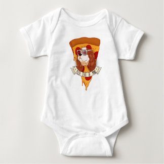 Pizza State of Mind Baby Bodysuit