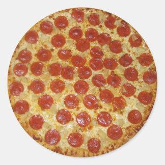Pizza stickers