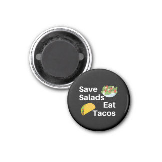 Pizza Taco Foodie Hangry Gift Magnet