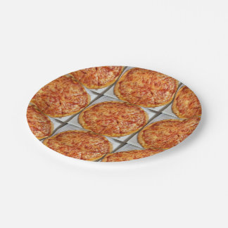 Pizza Time! 7 Inch Paper Plate