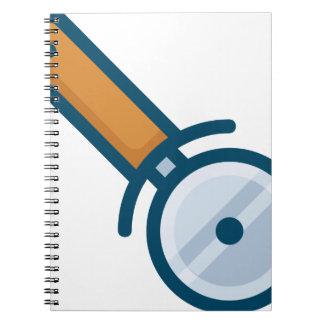 Pizza Wheel Cutter Notebook