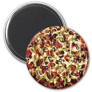 Pizza with Olives Magnet
