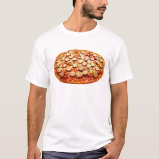 Pizza With Pepperoni and Sausage Men's T-Shirt