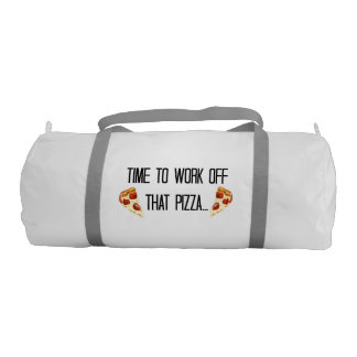 Pizza Work Out Gym Bag